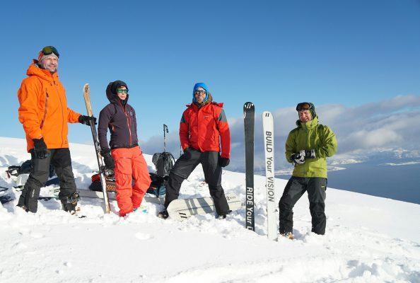 lieberdraussen haglöfs skitour lyngen alpen