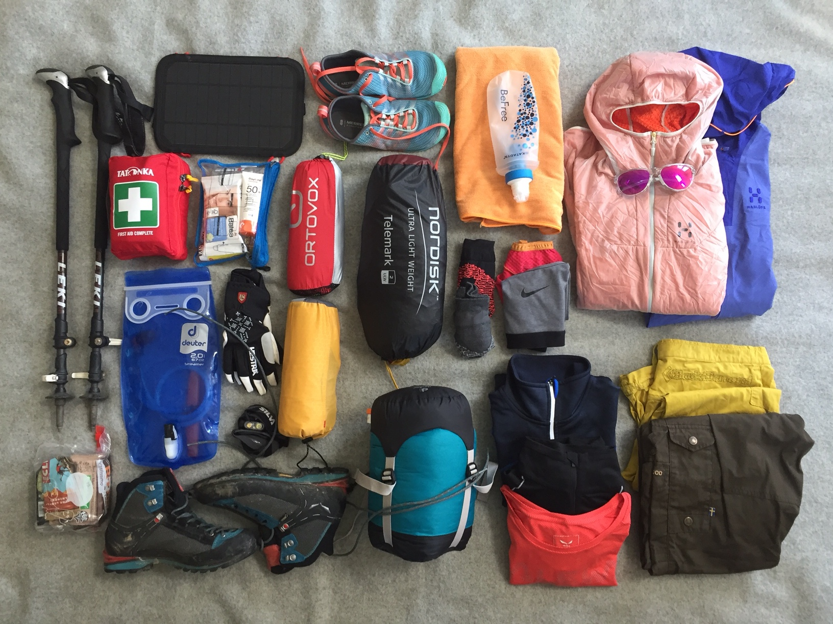 Packliste F 252 R 3 Wochen Trekking In Norwegen Lieberdraussen