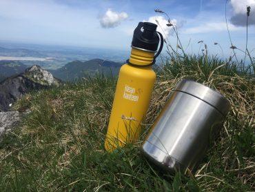 Mit Klean Kanteen in den Bergen unterwegs
