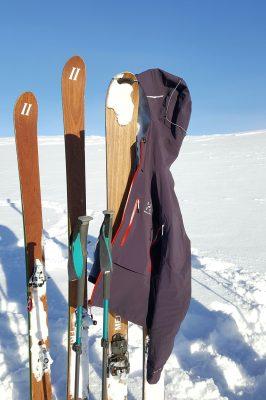 lieberdraussen haglöfs touringjacket ski